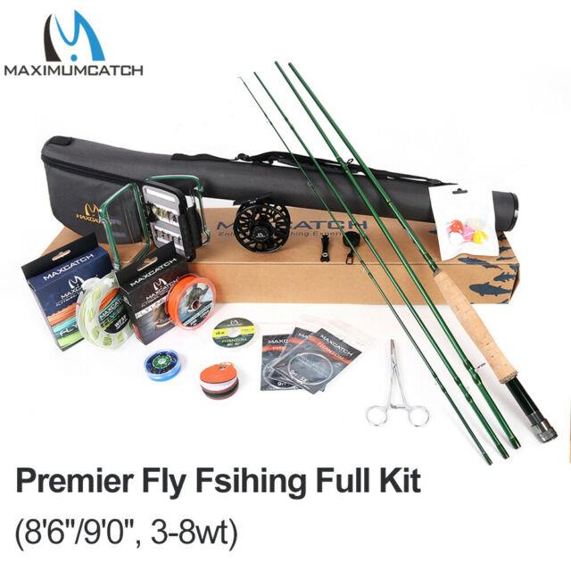 Maxcatch Premier Fly Fishing Rod And Reel Combo Complete Fishing Outfit