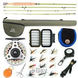 Maxcatch Ultra-lite Fly Fishing Rod Combo Kit 2/3wt, Fly Rod and Reel Outfit