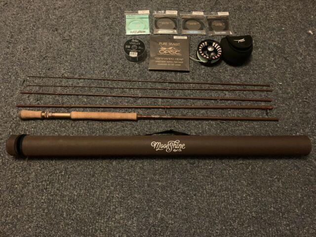 Moonshine Rod Co. / Tfo Reel/ Opst Line110 7wt Switch Rod Combo