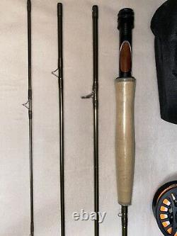 NEW Cabelas Synch 86 4WT Fly Rod Combo