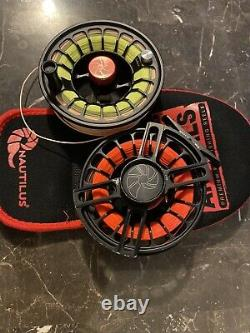 Nautilus xl max fly reel and Spear Spool Combo