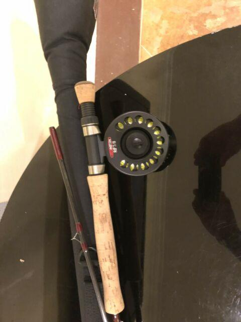 New! Redington Fly Rod/reel Rs2 Combo 9 #8 9082 With 7/8 Rs2 Stringed Reel