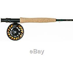 New Temple Fork Outfitters Nxt Tf04586 8'6 #4/5 Wt 4 Pc Fly Rod & Reel Combo