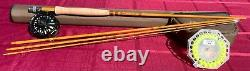 Next 9ft 6wt 4pc fly rod combo withcomposite reel, backing, LTS Trout WF6F line