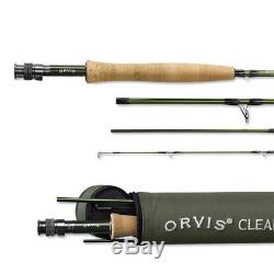 ORVIS CLEARWATER ROD & BATTENKILL REEL I Combo OUTFIT 602-4 withLine & Backing
