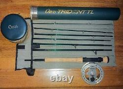ORVIS FLY ROD REEL COMBO Trident TL Rod / Battenkill Reel NO SCRATCHES USED ONCE