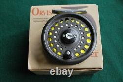 Orvis Clearwater 2pc Graphite Rod and Reel + 2 Boxes of Flies
