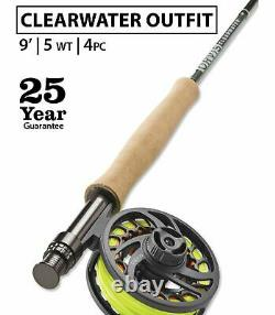 Orvis Clearwater 5wt 9'0 Fly Rod Outfit 25 Year Warranty Free Shipping