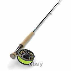 Orvis Clearwater Euro Fly Rod Outfit 10' 3wt, 4pc Kit NEW