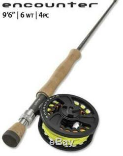 Orvis Encounter Outfit Fly Fishing Rod/Reel Combo
