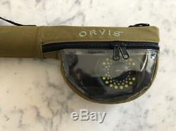 Orvis Streamline2 908-4 Tip Fly Rod + Clearwater Classic IV Reel Combo + Case