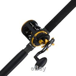 PENN SQL30LW2050C66 Squall Levelwind Combo Rod and Reel Combo