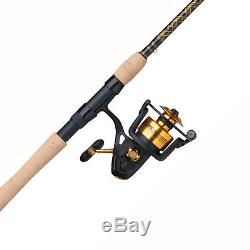 Penn Spinfisher V Spinning Reel and Fishing Rod Combo Outdoor Fishing Gear New