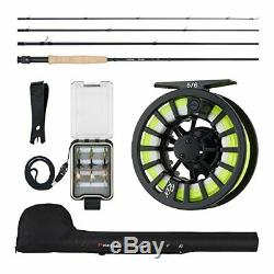 Piscifun Fly Fishing Rod and Reel Combo Fly Fishing #1 Fly Fishing Complete