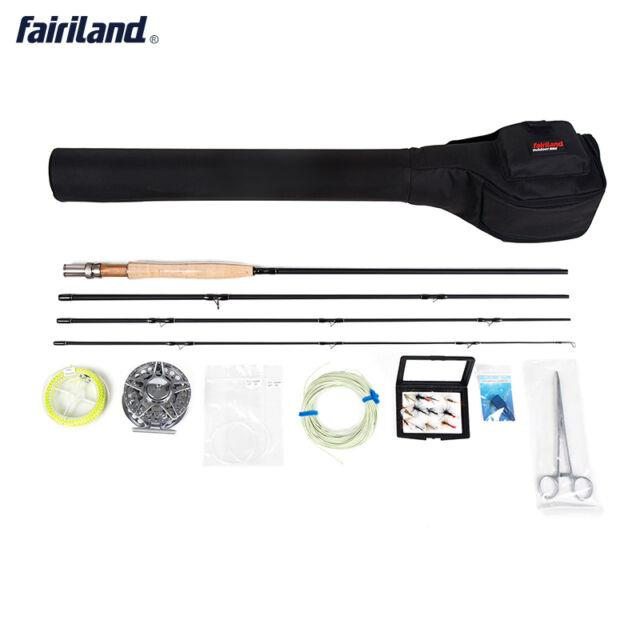 Portable Fly Fishing Rod Combos With Aluminum Alloy Reel Lead Line Fishing Tools