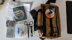 Portable Reyr Gear Fly Fishing Telescoping Rod, Collapsible Net, Gear Pack