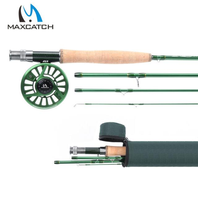 Premier 3/4/5/6/7/8wt Fly Fishing Rod Combo 4sec Im10 Rod With Case & Fly Reel
