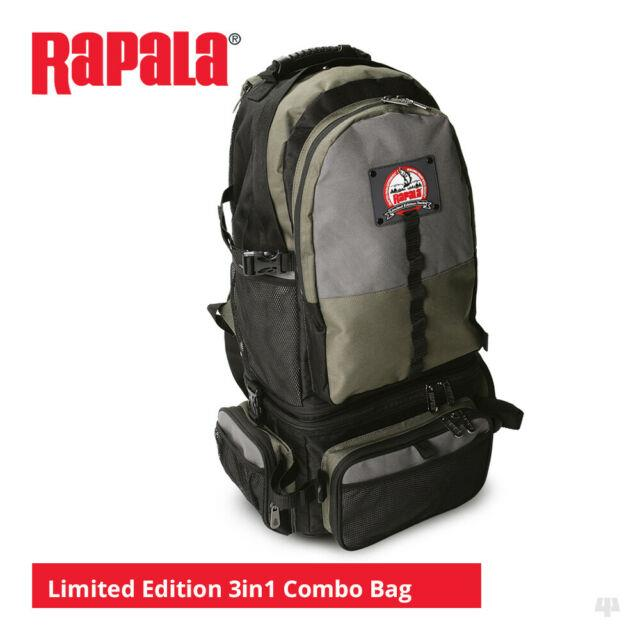 Rapala Limited Edition 3in1 Combo Backpack Pike Bass Trout Lure Sea Fishing