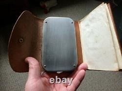 Rare Wheatley Leather Combination 119 clip Fly Box, Cast and Fly Damper Wallet