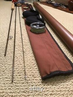Rare Zero wt SAGE SLT 080-3 FLY ROD And 3100 Reel Combo with Ex Spool
