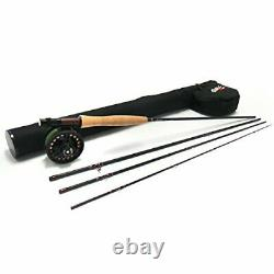Red Truck 1953 All-Purpose Trout Fly Rod and Reel Combo 9 ft. 5 Weight 4 pc