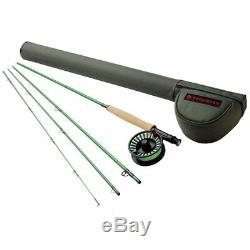 Redington 590-4 VICE 5 Line Weight 9 Foot 4 Piece Fly Fishing Rod and Reel Combo