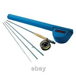 Redington 8WT Fly Fishing Combo Kit 9-Foot Crosswater Fly Reel 4 Piece withCase