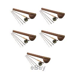 Redington 8 Weight Path II Outfit Combo Classic Angler Fly Fishing Rod (5 Pack)
