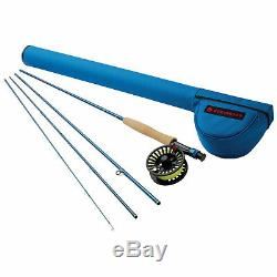 Redington 990-4 CROSSWATER 9 WT 9 Foot 4 Piece Fly Fishing Rod and Reel Combo