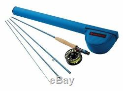 Redington Crosswater 590-4 Fly Rod Outfit 9' 5wt, 4pc Combo New
