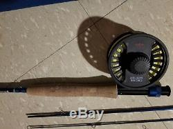 Redington Crosswater 9'0 5wt 4pc. Fly Rod Combo USED ONE TIME