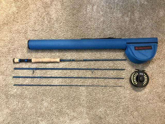 Redington Crosswater Ii Combo Fly Rod Outfit 90 8wt 4 Piece See Description
