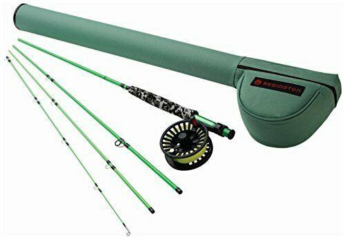 Redington Fly Fishing Combo Kit 580-4 Minnow Outfit With Crosswater Reel 5 Wt 8