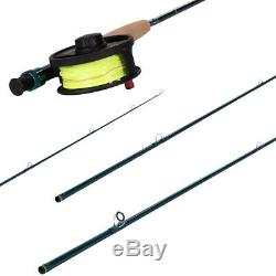 Redington Fly Fishing Combo Kit 590-4 Crosswater Outfit With Crosswater Reel 5