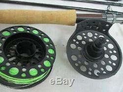 Redington Path 690-4 Fly Rod and Reel Combo new other with line and backing