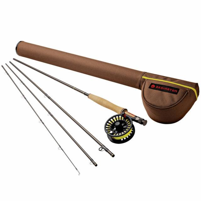 Redington Path 9 Wt 9 Foot 4 Pc Saltwater Fly Fishing Rod And Reel Combo (used)