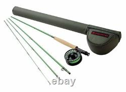 Redington Vice 690-4 Fly Rod Outfit 9' 6wt, 4pc rod, reel and line New