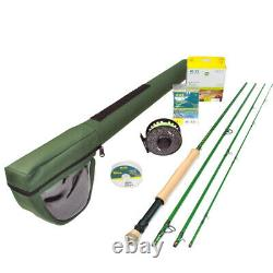 Redington Vice 790-4 Fly Rod Outfit with i. D Reel 7wt 9'0