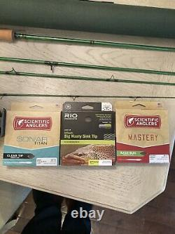 Redington Vice 7 Weight Fly Rod Combo With 3 Lines