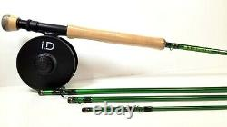 Redington Vice 890-4 Fly Rod Outfit 9' 8wt, 4pc rod, reel and line New