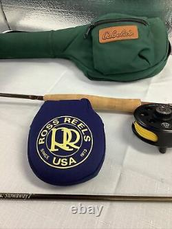 Ross Reel Cimarron 5 and St. Croix fly rod combo