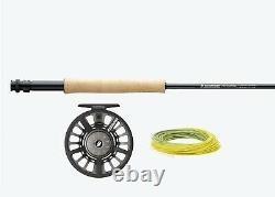 SAGE Foundation Fly Rod #4 9' 4 pcs, SpectrumC Reel & Accesories Outfit 490-4