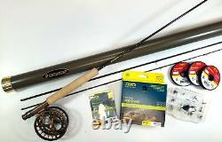 Sage Dart 176-3 Creek Trout Outfit 7'6 1wt 3pc NEW Complete Kit