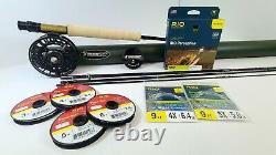Sage X 590-4 Trout Outfit GFS Kit 9' 5wt 4pc NEW