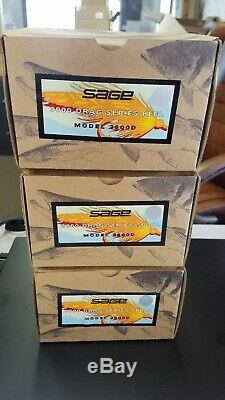 Sage fly combo reel 3600D and spare spools and sage rod New never used