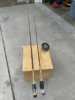 Saltwater fly rod combos. 2 Rods. (White River 9 8#) And (Fenwick 9 12-2)