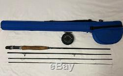 Scientific Anglers 4pc Fresh / Salt Fly Rod Reel Combo 9' 5/6wt With Case