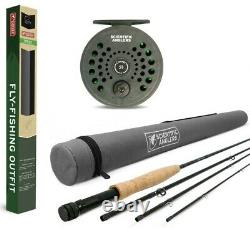 Scientific Anglers 9' 5 Weight Trout Fly Fishing Outfit Rod, Reel, Line