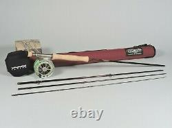 St. Croix Imperial 4 pc Fly Rod with Lamson GURU 3.0 Reel and Rod Case