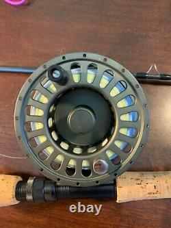 TFO 12 wt 4 piece Fly rod and reel